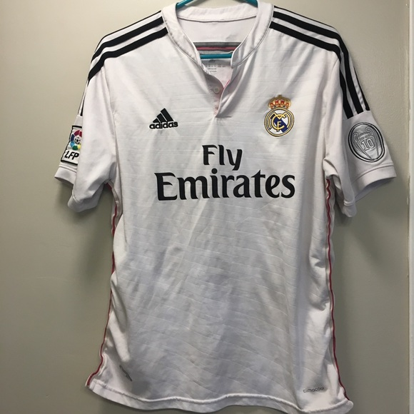 buy online 9d8fc 08d8d Adidas Real Madrid jersey size M